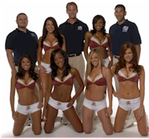 NOVA Pain and Rehab is the Sports Injury Treatment Facility for the Washington Redskins Cheerleaders